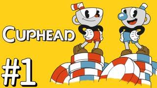 【実況】99%初見の 『 Cuphead (カップヘッド) 』実況プレイ #1