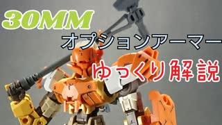 【30MM】30MMをゆっくり解説【オプション