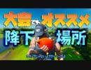【フォートナイト】大会でも強いオススメ降下場所!!【Fortnite/ランドマーク】