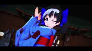 【MMD杯ZERO2参加動画】勇気ちひろで「極楽浄土」【MMDにじさんじ】