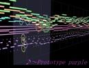 【東方風自作曲】Prototype purple【文花帖風】