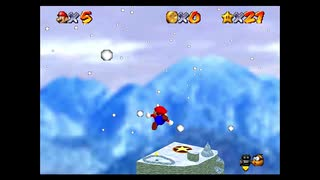 Super Mario 64 Twisted Adventures Course 4 『SNOWY MOUNTAINS』