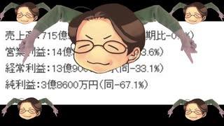 【けものフレンズIP炎上事件】テレビ東京HD 2020年3月期第2四半期決算