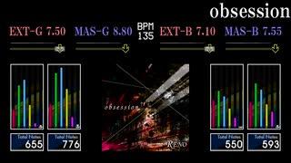 【GITADORA】obsession【NEX+AGE】