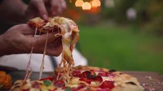 キャロライナ・リーパーのピザ
