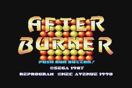 【実況】PCエンジン「アフターバーナーⅡ」をはじめて遊ぶ part1