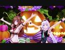【アイドル部MMD】花京院ちえり&カルロ・ピノで「Happy Halloween」