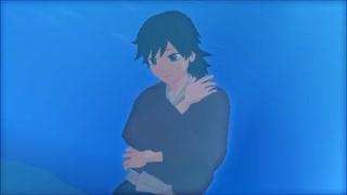 【MMD杯ZERO2参加動画】深海少女(義勇・錆兎・炭治郎)【鬼滅のMMD】