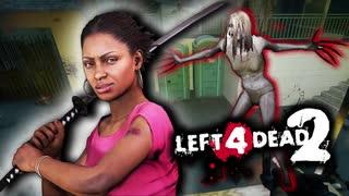【カオス実況】Left4Dead2を4人で実況してみた!ダークゾンビフェス編♯4【L4D2】