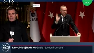 トルコが収容した難民や欧州出身のIS戦闘員を送還との脅しに欧州ビビるw
