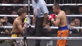WBSSバンタム決勝 WBAスーパー王者ノニト・ドネア vs WBA・IBF王者 井上尚弥