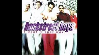 1999年04月27日 洋楽 「アイ・ウォント・イット・ザット・ウェイ」(バックストリート・ボーイズ)