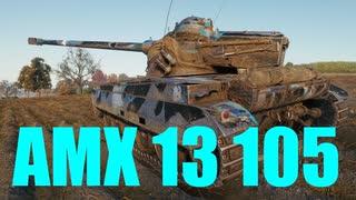 【WoT:AMX 13 105】ゆっくり実況でおくる戦車戦Part634 byアラモンド