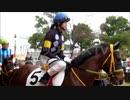 藤田菜七子ジョッキーがクワヒカリに騎乗 シャッター音が凄い 声援や写真を取る人多数
