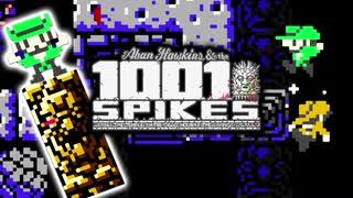 【1001 Spikes】初見殺しで死に狂う2人実況♯6