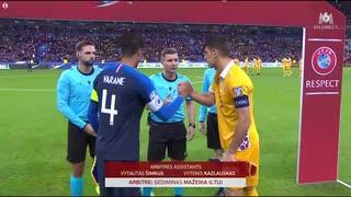 《EURO2020》 【予選:グループH】 [第9節] フランス vs モルドバ(2019年11月14日)