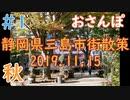 【散策動画】だいすきな三島市街をおさんぽ!その1【えぬさんぽ】