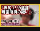 『女優 沢尻エリカ逮捕 麻薬所持の疑い』についてetc【日記的動画(2019年11月16日分)】[ 230/365 ]