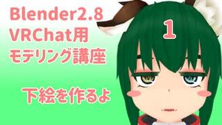 【Blender2.8版】VRChat用モデリング講座-1-【初めてのアバター制作】