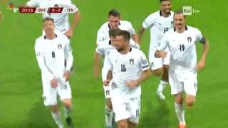 《EURO2020》 【予選:グループJ】 [第9節] ボスニア・ヘルツェゴビナ vs イタリア(2019年11月15日)