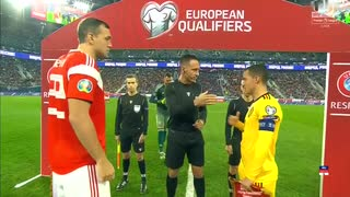 《EURO2020》 【予選:グループI】 [第9節] ロシア vs ベルギー(2019年11月16日)