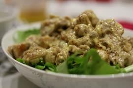 ほんのり刺激的な鶏マヨマスタード【料理】