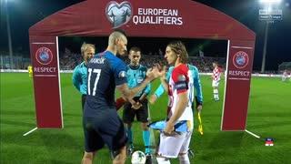 《EURO2020》 【予選:グループE】 [第9節] クロアチア vs スロバキア(2019年11月16日)