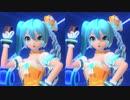 【初音ミク】積乱雲グラフィティ(立体視:平行法)【オレンジブロッサム】[1080p][60fps]