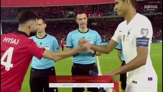 《EURO2020》 【予選:グループH】 [第10(最終)節] アルバニア vs フランス(2019年11月17日)