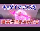 【ポケモン剣盾】キョダイマックスを確実に捕まえられる方法