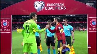 《EURO2020》 【予選:グループF】 [第10(最終)節] スペイン vs ルーマニア(2019年11月18日)