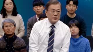 ムンムンに国民300人が「安保・経済・北韓