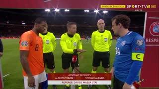 《EURO2020》 【予選:グループC】 [第10(最終)節]  オランダ vs エストニア(2019年11月19日)