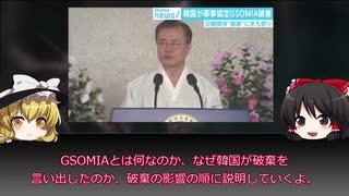 【ゆっくり解説】日韓GSOMIA破棄、文在寅のホンネ【韓国】