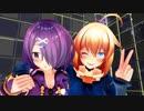 【アイドル部MMD】背中合わせでElephant(Ignite)【木曽あずき/牛巻りこ】