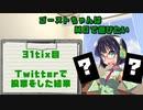 【特別企画】ゴーストちゃんはMOで遊びたい 31tix目【Twitter投票結果】