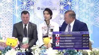 【ロシア/チャンネル1】羽生結弦2019 NHK