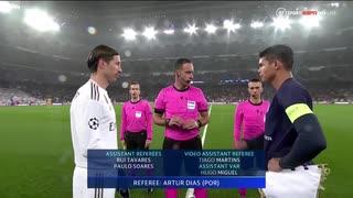 《19-20UEFA CL》 [GS第5節・A組] レアル・マドリード vs パリ・サンジェルマン