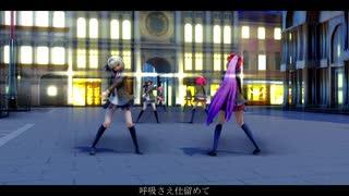 【東方MMD】制服の6人で[A]ddiction