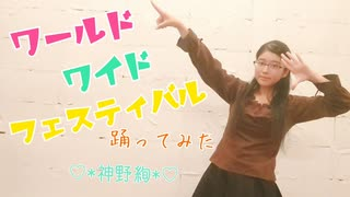 【メモリアルシリーズ】ワールドワイドフェスティバル 踊ってみた【♡*神野絢*♡】