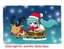 【初音ミク】Mr. and Mrs. Santa Claus【オリジナル曲】