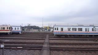 【車窓】水海道車両基地→水海道【常総線】