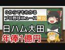 【ゆっくり解説】プロ11年目にして初!大田泰示1億円プレイヤーの仲間入り
