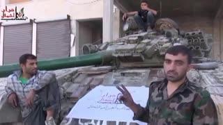【シリア内戦】戦車のメンテナンスの様子