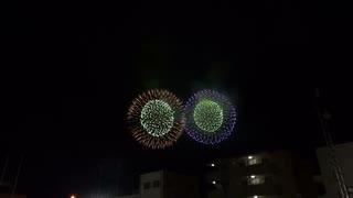 2019.12.3 (埼玉)秩父夜祭 豊田煙火店の尺玉