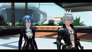 [PSO2EP6]A WAY TO SEAL THE DEMISE[第3章2節 黒白の地を侵す者]1/7