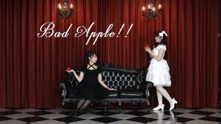 【一人二役で】Bad Apple!! 踊ってみた【