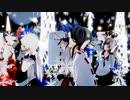 【MMD艦これ】 榛名、リデル、夕立、加賀、ISAO式博麗霊夢 「愛言葉Ⅲ」 1080p