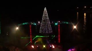 2019.12.7 (大阪)すみのえ・南港 光のワンダーランド ~Xmasレーザー&ライティングショー~ (前半)