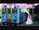 ゆかれいむの北海道で鉄道旅。その5